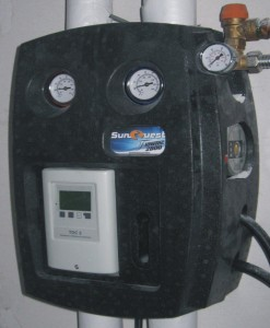 SunQuest FlowTec 2800 Pump and Control Unit