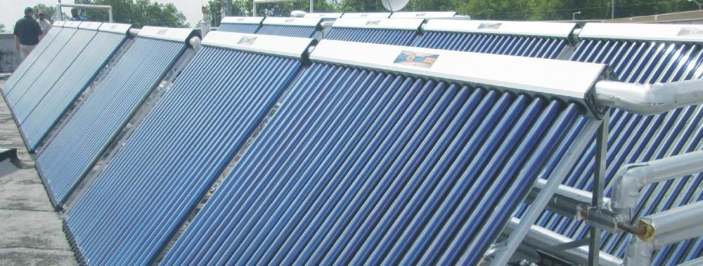 Solar America Solutions Solar Thermal Evacuated