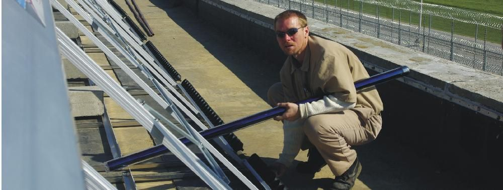 WABASH VALLEY CORRECTIONAL FACILITY, Carlisle, Indiana:  Training inmates with real job skills while saving the state of Indiana most of the project installation costs.  Solar America Solutions provided select offenders with real-world job skills training, which will help reduce recidivism.